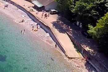 Babbacombe bay entry/exit